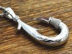 他の写真3: コアウッドフィッシュフックハワイアン釣り針ペンダント(XL)